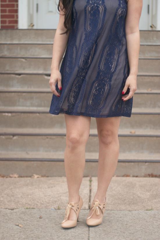 Dress: TJ Maxx / Shoes: Dolce