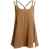 Neutral Crop Tank Top
